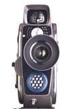 Retro mechanical hobbies movie camera isolated Stock Images
