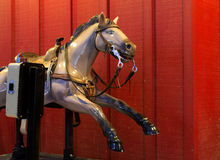 Retro Mechanical Hobby Horse Stock Photo