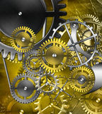 Retro mechanism Royalty Free Stock Image