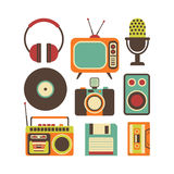 Retro Media technology Stock Images