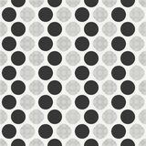 Retro memphis geometric line shapes seamless patterns. Hipster fashion 80-90s. Abstract jumble textures. Black and white Royalty Free Stock Photography