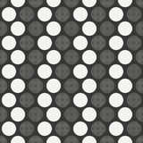 Retro memphis geometric line shapes seamless patterns. Hipster fashion 80-90s. Abstract jumble textures. Black and white. Circle, round, dot. Memphis style for Stock Photography