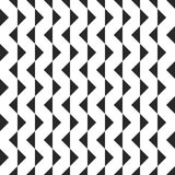 Retro memphis geometric shapes seamless abstract patterns. Hipster fashion 80-90s. Jumble textures. Black and white. Triangle. Memphis style for printing stock illustration