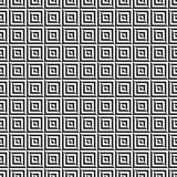 Retro memphis geometric square shapes seamless abstract patterns. Hipster fashion 80-90s. Jumble textures. Optical Stock Photography