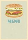 Retro menu cover Royalty Free Stock Images