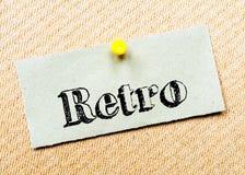 Retro Message Stock Photography