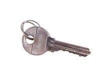 Retro metal key Stock Photography