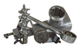 Retro metal kitchen device - grinder Stock Photo