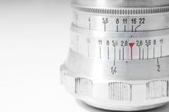Retro metal lens Royalty Free Stock Image