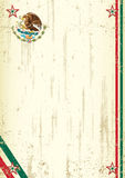 Retro mexican background. A vintage mexican background with a texture for your advertising Royalty Free Stock Photo