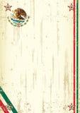 Retro- mexikanischer Hintergrund Lizenzfreies Stockfoto