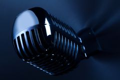 Retro Mic Royalty Free Stock Photo