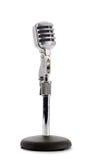 Retro microfono Immagini Stock