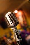 Retro microphone stock images