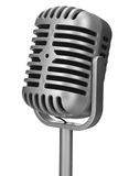 Retro microphone Stock Photography