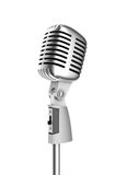 Retro microphone Royalty Free Stock Photo
