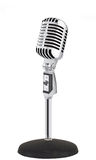 Retro Microphone () Stock Photos