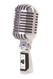 Retro Microphone Isolated Stock Photo