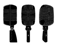 Retro Microphone Vector 01 Royalty Free Stock Image