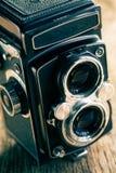 Retro middle-format camera Stock Photos