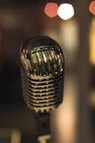 Retro mikrofon Royaltyfri Fotografi