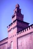 Retro Milano Immagine Stock Libera da Diritti