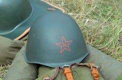 Retro military items Royalty Free Stock Photography