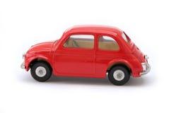 Retro mini automobile di modello Immagini Stock