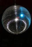 Retro Mirror Ball. This One is Huge and goes way back to those heady disco days of the 70s Royalty Free Stock Photo