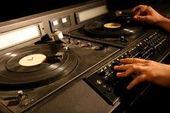 Retro- Mischer DJ Lizenzfreie Stockfotos