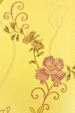 Retro- mit Blumenhintergrund Lizenzfreie Stockfotos