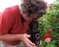 Retro- mittlere Format-Fotographie stockbild