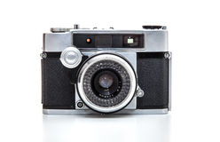 Retro 35mm camera Stock Photography