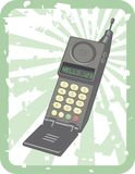Retro Mobiele Telefoon Stock Afbeeldingen