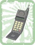 retro mobil telefon royaltyfri illustrationer