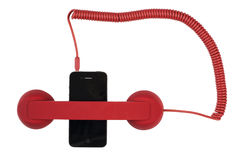 Retro mobile phone Stock Photography