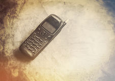 Retro mobile phone Royalty Free Stock Photos