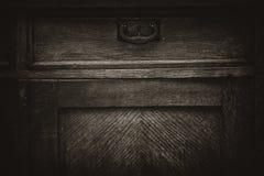 Retro mobilia di legno d'annata immagini stock libere da diritti