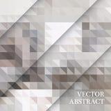 Retro modello astratto delle forme geometriche Contesto variopinto del mosaico di pendenza Fondo triangolare dei pantaloni a vita Fotografia Stock Libera da Diritti
