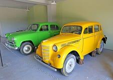 Retro modello dell'automobile Immagine Stock