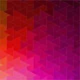 Retro modello delle forme geometriche Immagini Stock