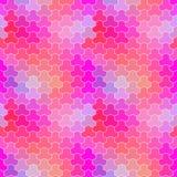 Retro modello delle forme geometriche Immagini Stock Libere da Diritti