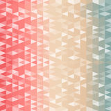 Retro modello delle forme geometriche illustrazione di stock