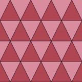 Retro modello delle forme geometriche Contesto variopinto del mosaico Il retro fondo dei pantaloni a vita bassa geometrici, dispo illustrazione vettoriale