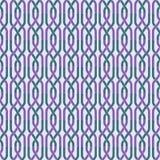 Retro modello geometrico astratto senza cuciture Elementi a catena nella disposizione verticale royalty illustrazione gratis