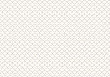 Retro modello netto porpora su colore pastello Immagine Stock