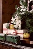 Retro modello tonificato del treno Fotografia Stock Libera da Diritti