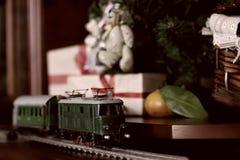 Retro modello tonificato del treno Immagini Stock Libere da Diritti