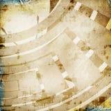 Retro modern grunge paper denim background Stock Photo