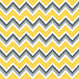 Retro Modern Ikat Chevron Royalty Free Stock Photos